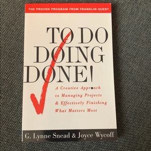 Other - NEW To Do... Doing... Done! paperback